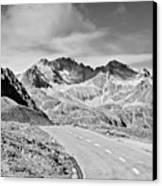 Albula Pass Road Canvas Print by daitoZen