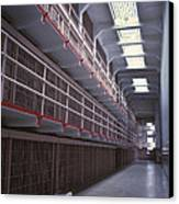 Alcatraz Cell Block Canvas Print by Paul W Faust -  Impressions of Light