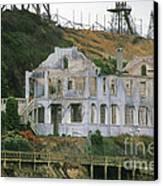 Alcatraz Skeleton Canvas Print by Paul W Faust -  Impressions of Light