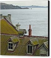 Alcatraz View Canvas Print by Suzanne Gaff