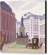 Aldwych  Canvas Print by Robert Polhill Bevan