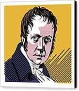 Alexander Von Humboldt, German Naturalist Canvas Print by Smetek