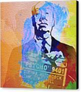 Alfred Hitchcock Canvas Print by Naxart Studio