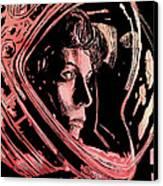 Alien Sigourney Weaver Canvas Print by Giuseppe Cristiano