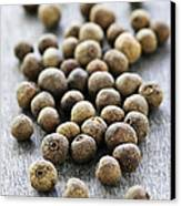Allspice Berries Canvas Print by Elena Elisseeva