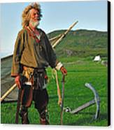 Along The Viking Trail Canvas Print by Tony Beck
