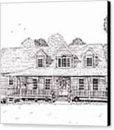 Al's House   Canvas Print by Michelle Welles