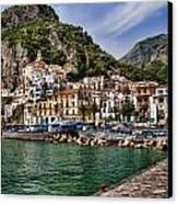 Amalfi Canvas Print by David Smith