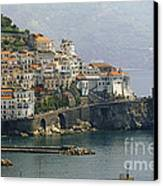 Amalfi Daytime Scenic Canvas Print by George Oze