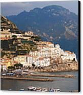 Amalfi Canvas Print by Bill Cannon