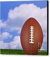 American Football Tee'd Up Canvas Print by Richard Thomas