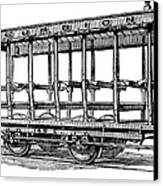 American: Streetcar, 1880s Canvas Print by Granger
