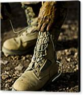 An Air Force Basic Military Training Canvas Print by Stocktrek Images