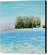 Anchorage At Crystal Bay Canvas Print by Kevin Brant