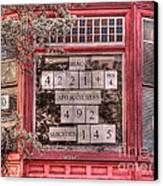 And The Number Is Still Rising... Canvas Print by David Bearden