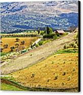 Andalusia Countryside Panorama Canvas Print by Artur Bogacki