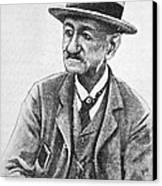 Angelo Dubini, Italian Physician, Artwork Canvas Print by