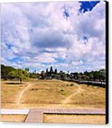 Angkor Wat Canvas Print by Arik S Mintorogo