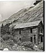Animas Forks In Blackandwhite Canvas Print by Melany Sarafis