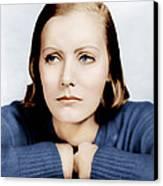 Anna Christie, Greta Garbo, Portrait Canvas Print by Everett