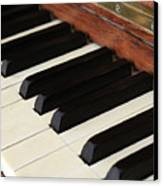 Antique Piano Canvas Print by Martine Roch