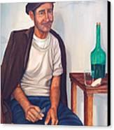 Antonio Canvas Print by AnnaJo Vahle