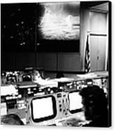 Apollo 11: Mission Control Canvas Print by Granger