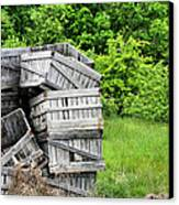 Apple Crates Canvas Print by JC Findley