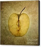 Apple Textured Canvas Print by Bernard Jaubert