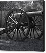 Appomattox Cannon Canvas Print by Teresa Mucha