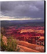 Approaching Storm  Canvas Print by Robert Bales