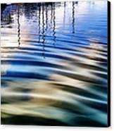 Aquatic Reflections Canvas Print by Mariola Bitner