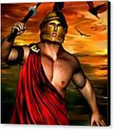Ares Canvas Print by Lourry Legarde