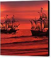 Armada Canvas Print by Lourry Legarde
