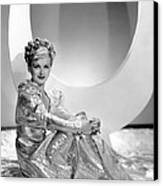 Artists And Models Abroad, Joan Bennett Canvas Print by Everett