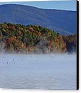 Autumn Backdrop Canvas Print by Douglas Barnard