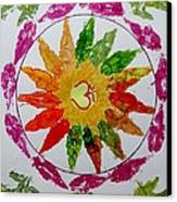 Autumn Chakra Canvas Print by Sonali Gangane
