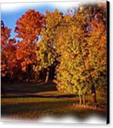 Autumn On Swanson's Path Canvas Print by Liz Evensen