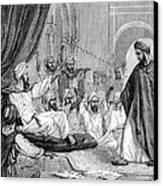 Averroes, Islamic Physician Canvas Print by