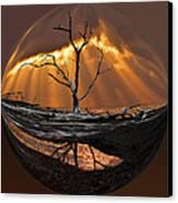 Awakening Canvas Print by Debra and Dave Vanderlaan