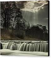 Aysgarth Falls Yorkshire England Canvas Print by John Short