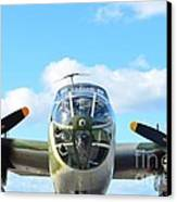B-25j Killer B Canvas Print by Lynda Dawson-Youngclaus