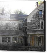 Back Of 1860's Mansion Canvas Print by Kristie  Bonnewell