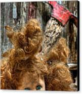 Bad Hair Day Canvas Print by JC Findley