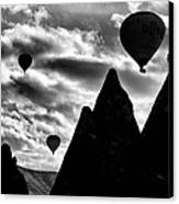 Ballons - 2 Canvas Print by Okan YILMAZ