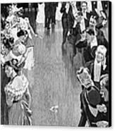 Ballroom, C1900 Canvas Print by Granger