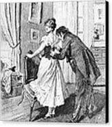 Balzac: Cousin Bette Canvas Print by Granger
