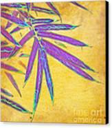 Bamboo Batik II Canvas Print by Judi Bagwell