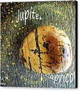 Barack Obama Jupiter Canvas Print by Augusta Stylianou