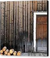 Barkerville Back Porch Canvas Print by Calvin Wray